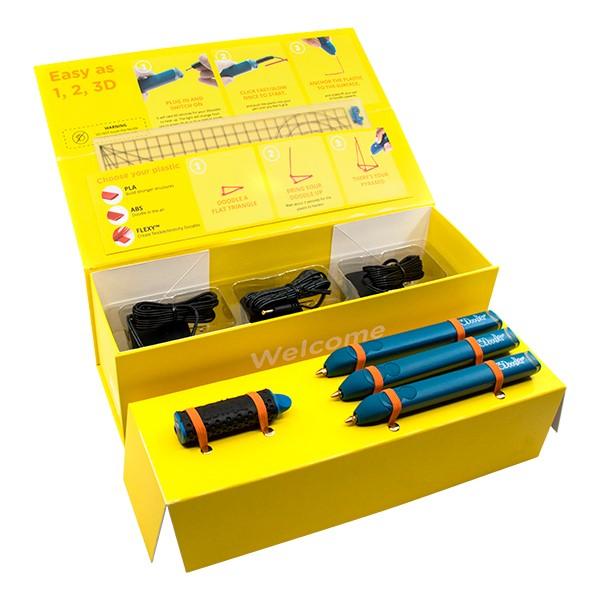 3Doodler EDU Create Learning Pack - Six Pens - Student Kit