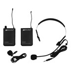 Wireless UHF Lapel & Headset Mic Kit