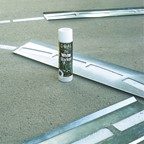 Reusable Steel Basketball Court Stencil w/ 3-Point Line