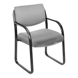 Fabric Guest Chair - Gray