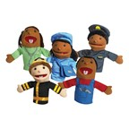 Career Puppets - Set of Five