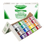 Crayola Marker Classpack - Broad Line