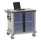 Laptop Storage Cart - Shown w/ doors closed