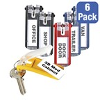Key Tags - Pack of Six