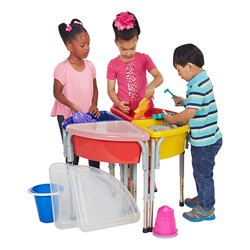 Sand & Water Play Center - Four Station