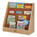 Birch & Fabric Book Display