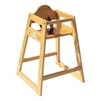 Classic Wood High Chair - Natural