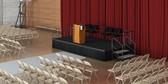 High school auditorium.