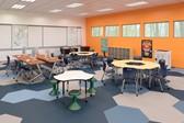 Collaborative elementary classroom.