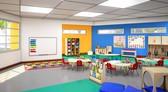 Kindergarten classroom.