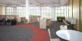 Library space.