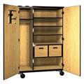 Teacher's Storage & Wardrobe Cabinet w/ Drawers
