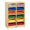 Baltic Birch Paper Tray Cubby Unit