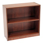 Legacy Series Bookcase - Two Shelves - Shown in cherry