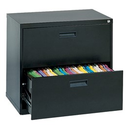 Lateral File Cabinet w/ Two Drawers