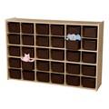 30-Tray Wooden Storage Unit
