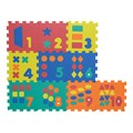 Number & Shape Puzzle Mat w/ Carry Bag