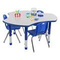 Cog Adjustable-Preschool Collaborative Table