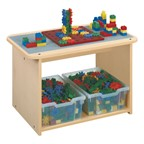 "Block Play Table - Shown in 32"" W"