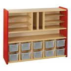 Spacesaver Cubby & Shelf Storage Unit