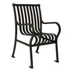 Hamilton Outdoor Chair - Shown w/ arms