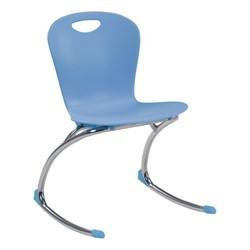 """Zuma Rocker Chair (18"""" Seat Height) - Blueberry"""