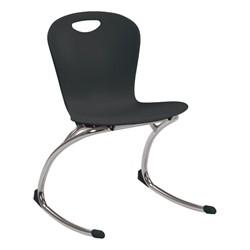 """Zuma Rocker Chair (18"""" Seat Height) - Black"""
