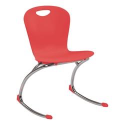 """Zuma Rocker Chair (18"""" Seat Height) - Red"""