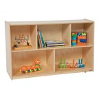 """Divided Shelf Storage (30"""" H)"""