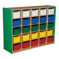 25-Tray Colorful Mobile Storage Unit