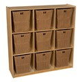 Natural Cubby Storage