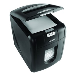 Swingline Stack-and-Shred Hands Free Shredder - 100 Sheets