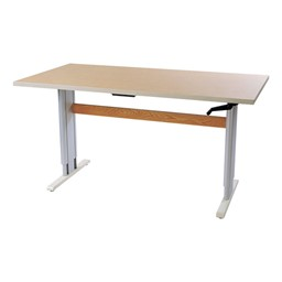 Adjustable Height Table – Hand Crank Adjustment