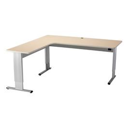 Infinity 7230 Secretary Return-Style Desk – Power Adjustment