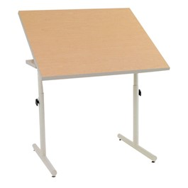 Knob-Adjusted Wheelchair Accessible Desk – Tilt Adjustment Tabletop