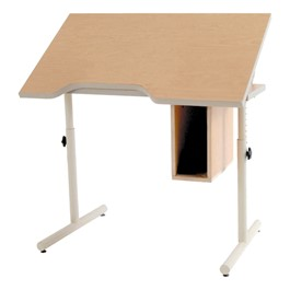 Knob-Adjusted Wheelchair Accessible School Desk – Tilt Adjustment