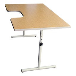 Hand Therapy Table w/ Single Comfort Recess shown