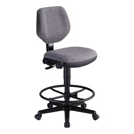 Comfort Classic Deluxe Drafting Stool - Gray