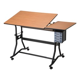 CraftMaster III Split-Top Drafting & Art Table