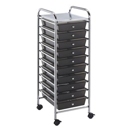 Mobile Taboret w/ 10 Drawers