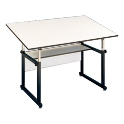 WorkMaster Drafting Table - Shown w/ black base