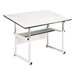 WorkMaster Drafting Table - Shown w/ white base
