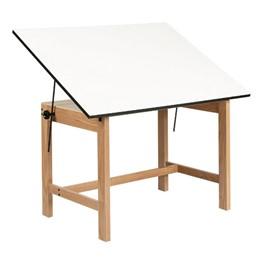 Titan Oak Drafting Table - Melamine