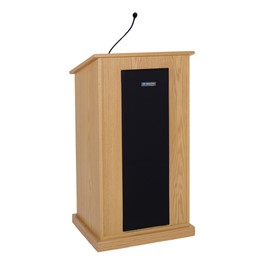 Chancellor Lectern w/ Wireless Mic