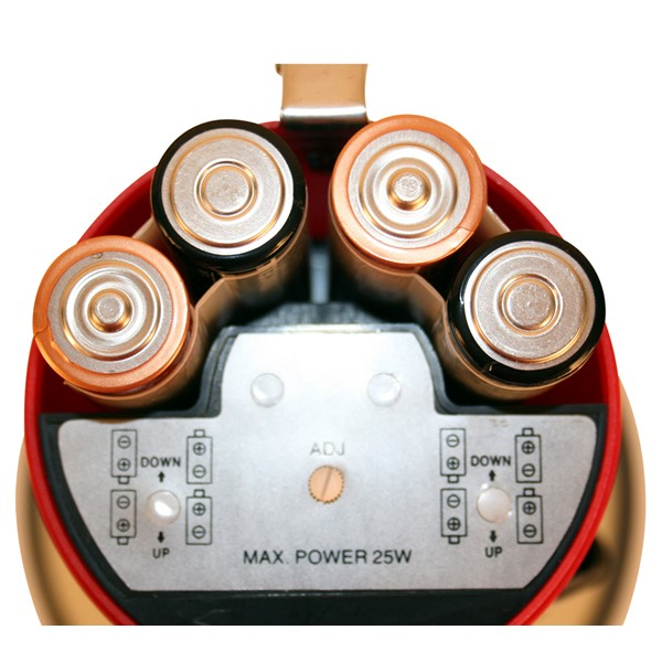 Mity Meg Plus Megaphone w/ Detachable Mic (25-Watt) - Batteries