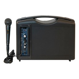 Audio Buddy Portable PA System w/ Wired Microphone