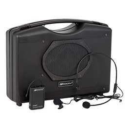 Audio Buddy Portable PA System w/ Wireless Microphones