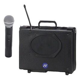 Audio Buddy Portable PA System w/ Wireless Handheld Mic