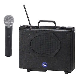 Audio Buddy Portable PA System w/ Wireless Handheld Mic