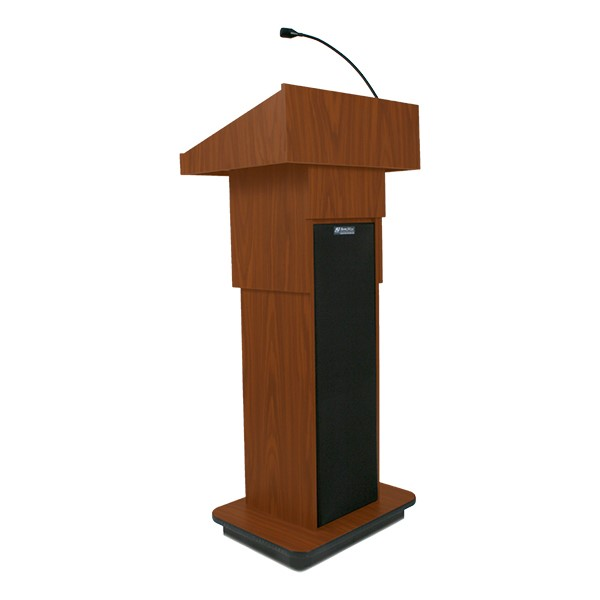 Adjustable Pneumatic Lectern - Front view